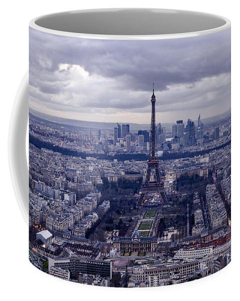 Paris Coffee Mug featuring the photograph See Paris As Birds Do by Pablo Lopez