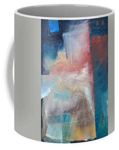 Brown Coffee Mug featuring the painting See What Brown Can Do For You by Tim Nyberg