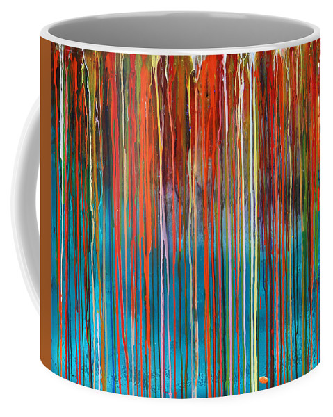 Fusionart Coffee Mug featuring the painting Seed by Ralph White