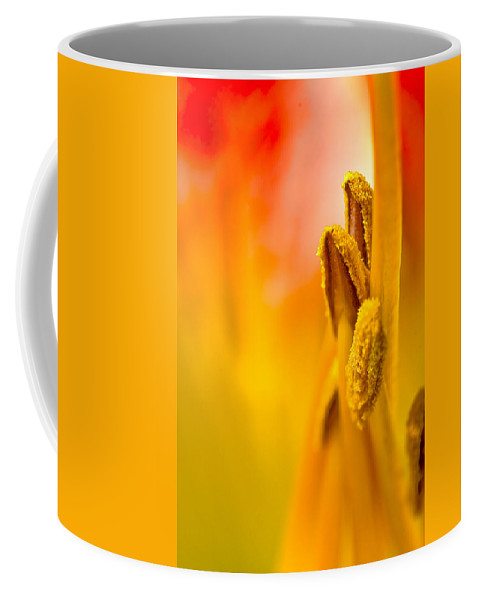Flower Coffee Mug featuring the photograph Seeking by Ches Black
