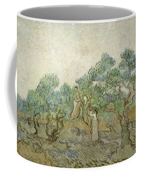 Man Coffee Mug featuring the painting Self Portrait by Artistic Panda