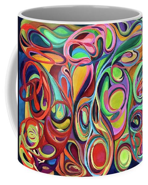 Love Coffee Mug featuring the painting Selva by Antonio Martinez Paramo