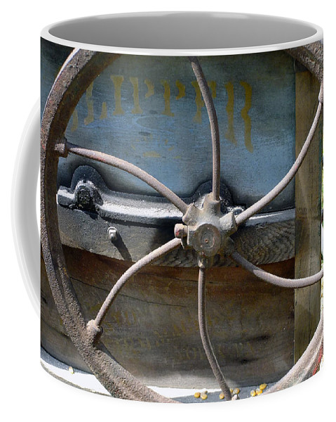 Agriculture Coffee Mug featuring the digital art Sending To The War by RC DeWinter