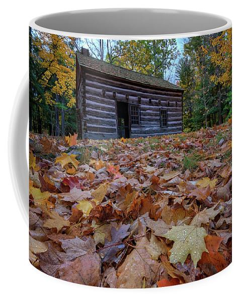 Cabin Coffee Mug featuring the photograph Seneca Council Grounds by Rick Berk