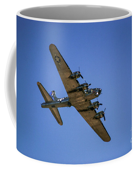 2 Coffee Mug featuring the photograph Sentimental Journey In Flight by Chandra Nyleen