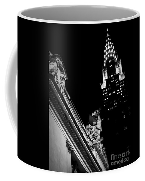 Grand Central Coffee Mug featuring the photograph Sentinel For Grand Central by James Aiken