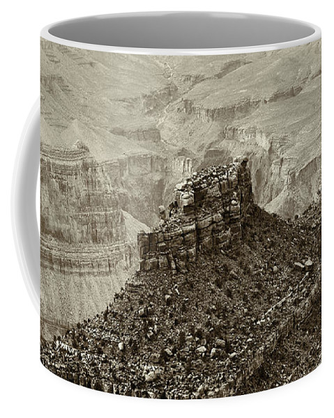 Adventure Coffee Mug featuring the photograph Sentry Of Centuries by Will Jacoby Artwork