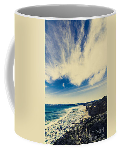 Victoria Coffee Mug featuring the photograph Serene Victoria Coastline by Jorgo Photography - Wall Art Gallery