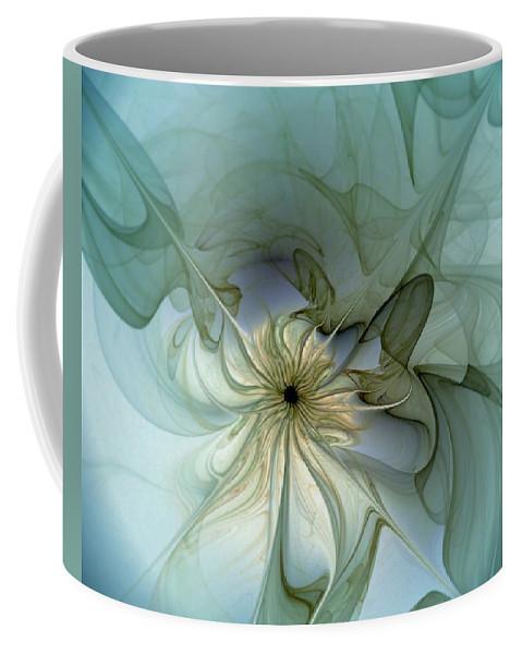 Digital Art Coffee Mug featuring the digital art Serenity by Amanda Moore
