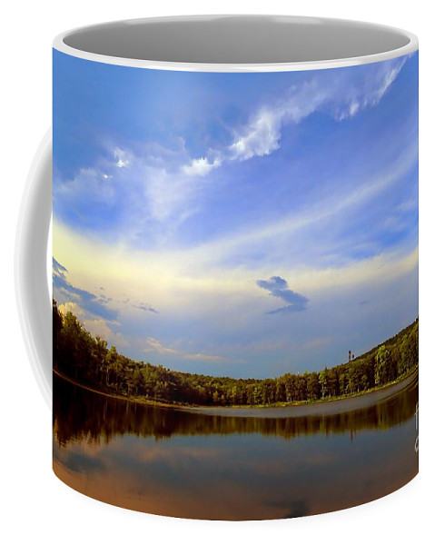 Serenity Coffee Mug featuring the photograph Serenity by Bonnie J Thompson