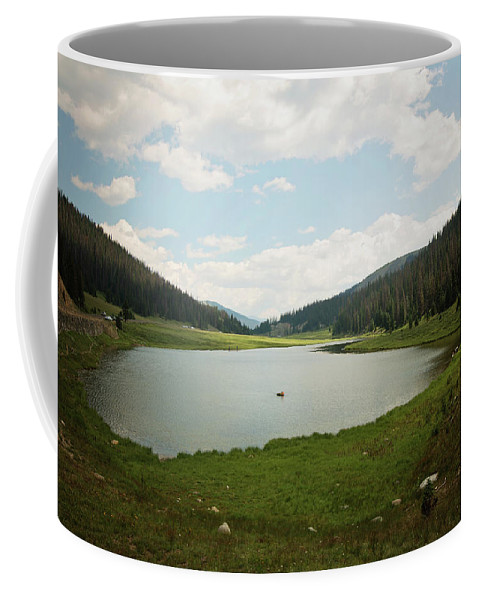 Landscapes Coffee Mug featuring the photograph Serenity by Sue Collura