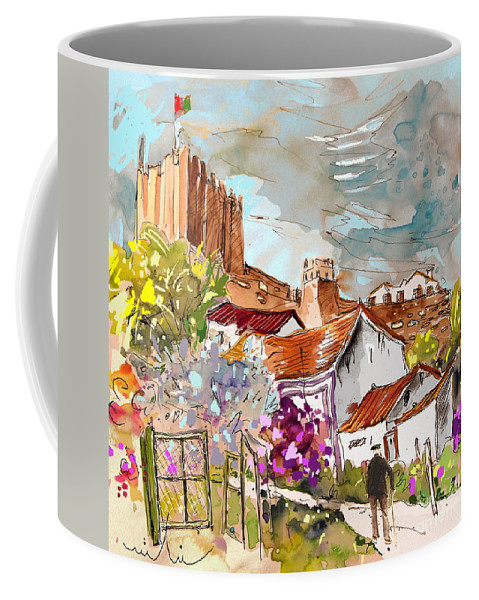 Water Colour Painting Serpa Portugal Coffee Mug featuring the painting Serpa Portugal 26 by Miki De Goodaboom