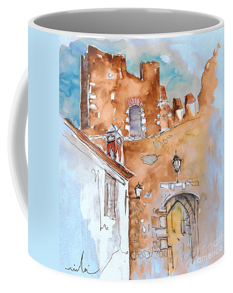 Water Colour Painting Serpa Portugal Coffee Mug featuring the painting Serpa Portugal 29 by Miki De Goodaboom
