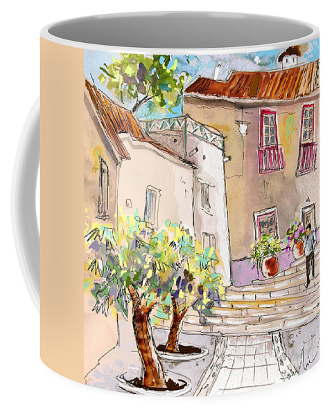 Portugal Paintings Coffee Mug featuring the painting Serpa Portugal 36 by Miki De Goodaboom