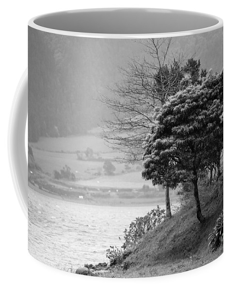 Azoren Coffee Mug featuring the photograph Sete Cidades Lakes by Gaspar Avila