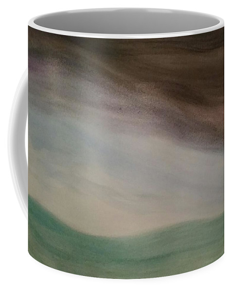 Storm Coffee Mug featuring the painting Setting The Stage by Vale Anoa'i