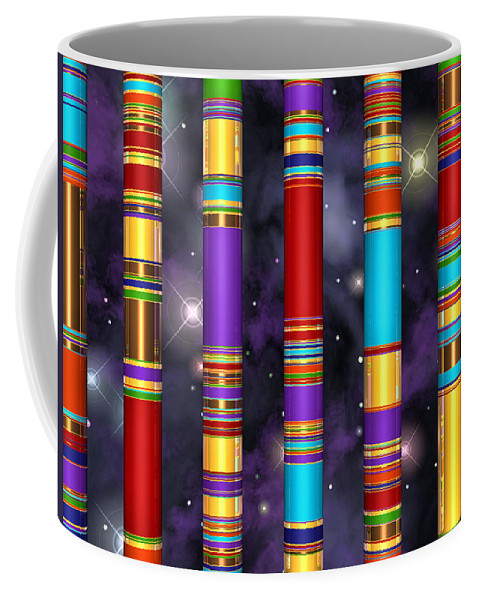 Universe Coffee Mug featuring the digital art Seven by Andreas Thust