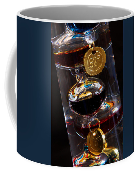 Thermometer Coffee Mug featuring the photograph Seventy Eight To Eighty Two by Joe Kozlowski