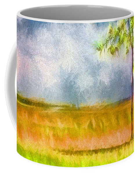Tree Coffee Mug featuring the photograph Shade by Jean OKeeffe Macro Abundance Art