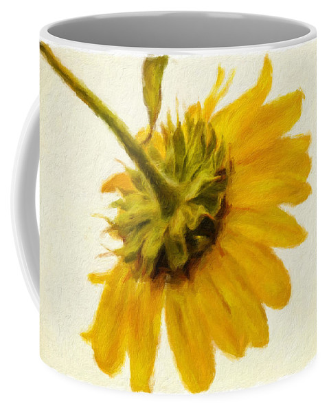 Sunflower Coffee Mug featuring the photograph Shades Of Yellows by Alice Gipson