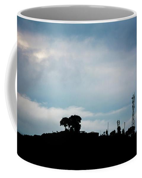 Sky Coffee Mug featuring the photograph Shadow Horizon by Kumud Parajuli
