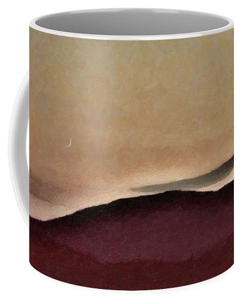 Landscape Coffee Mug featuring the photograph Shadows And Light by Sue Collura
