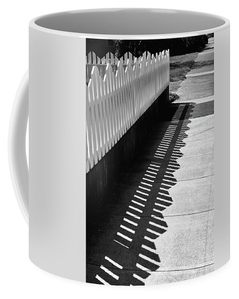 Ferndale Coffee Mug featuring the photograph Shadows by Lynn Wohlers