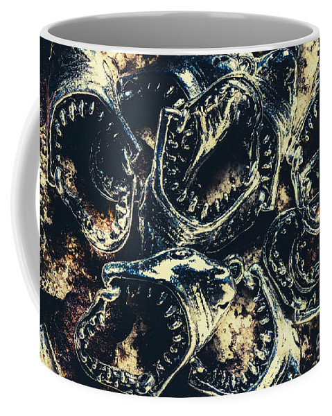 Fish Coffee Mug featuring the photograph Shark Jaws by Jorgo Photography - Wall Art Gallery