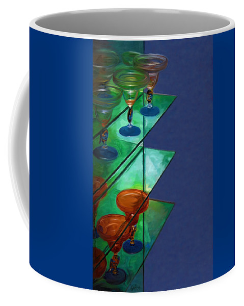 Still Life Coffee Mug featuring the digital art Sheilas Margaritas by Holly Ethan