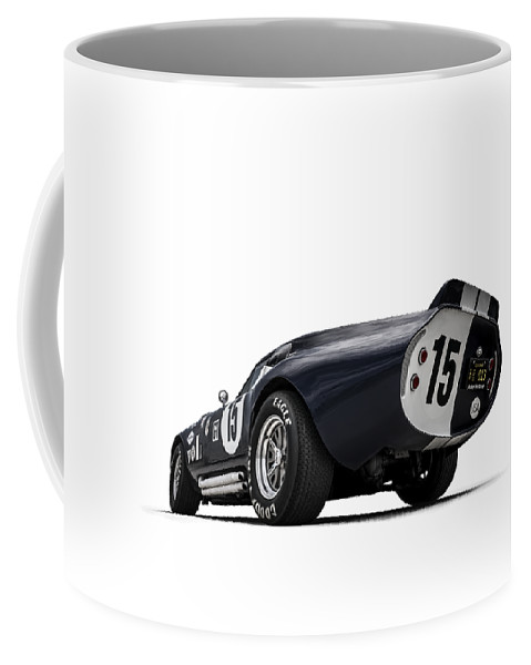 Shelby Coffee Mug featuring the digital art Shelby Daytona by Douglas Pittman