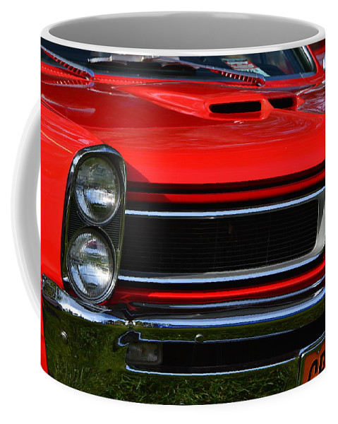 Coffee Mug featuring the photograph Red Gto by Dean Ferreira