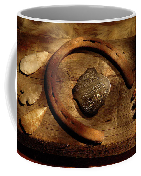 Sheriff Coffee Mug featuring the photograph Sheriff by Daniel Alcocer