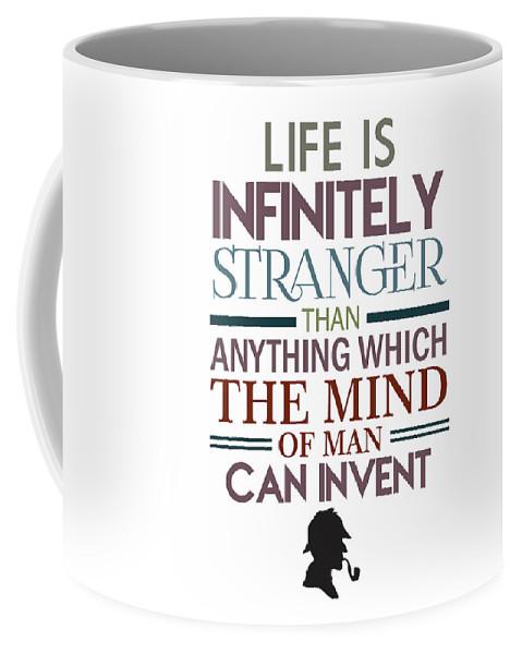 sherlock holmes quotes coffee mug for by studio grafiikka