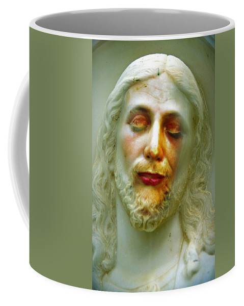 Jesus Coffee Mug featuring the photograph Shesus by Skip Hunt