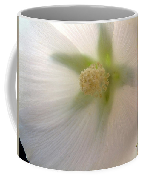 Blossom Coffee Mug featuring the photograph Shimmer by RC DeWinter