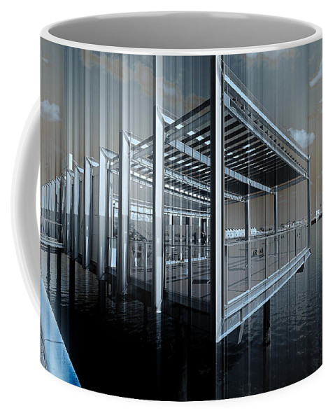 Adelaide Coffee Mug featuring the photograph Shimmer by Wayne Sherriff