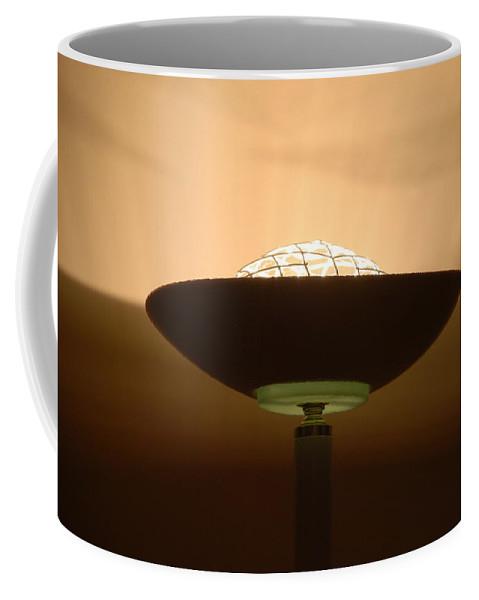 Lamp Coffee Mug featuring the photograph Shine by Rob Hans