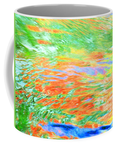 Abstract Coffee Mug featuring the photograph Shine Through by Sybil Staples