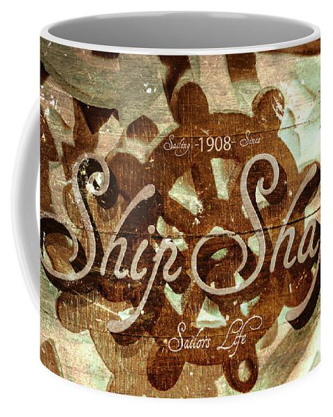 Ship Coffee Mug featuring the digital art Ship Shape 1908 by Jorgo Photography - Wall Art Gallery