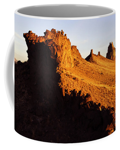 New Mexico Coffee Mug featuring the photograph Shiprock New Mexico 2 by Bob Christopher