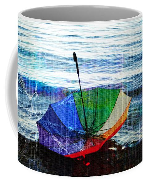 Autumn Coffee Mug featuring the photograph Shipwrecked by Randi Grace Nilsberg