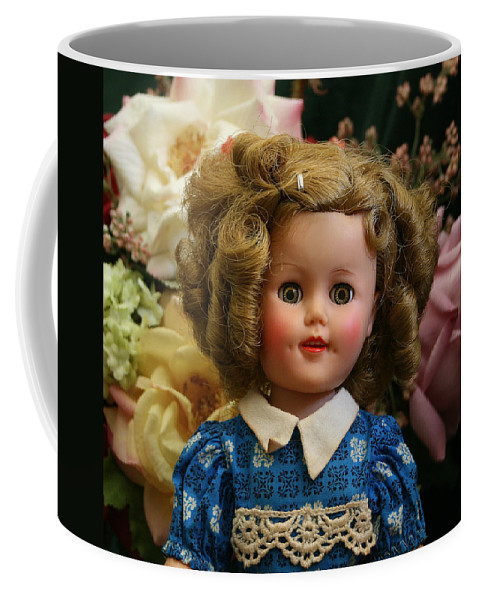 Doll Coffee Mug featuring the photograph Shirley Shirley by Marna Edwards Flavell