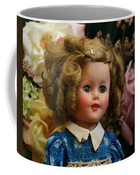 Doll Coffee Mug featuring the photograph Shirley Temple Doll by Marna Edwards Flavell