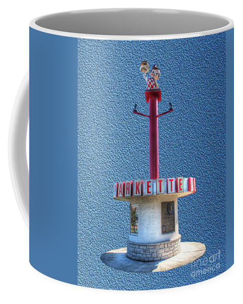 Charleston Coffee Mug featuring the photograph Shoneys Big Boy Museum by Greg Hager