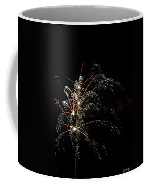 July 4th Coffee Mug featuring the photograph Shooting Stars by Phill Doherty