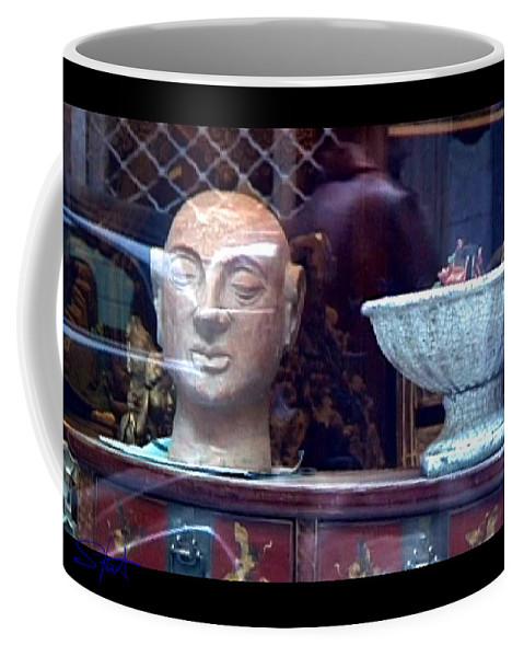 Dream Coffee Mug featuring the photograph Shop Window by Charles Stuart