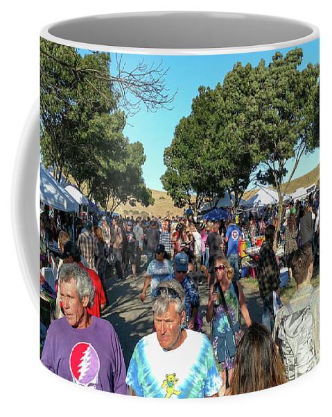 Shoreline Amphitheatre Coffee Mug featuring the photograph Shoreline Amphitheatre - Dead And Company by David Oppenheimer
