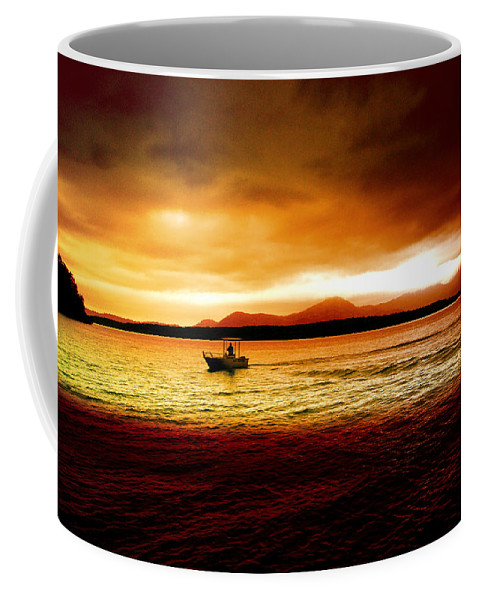 Landscape Coffee Mug featuring the photograph Shores Of The Soul by Holly Kempe