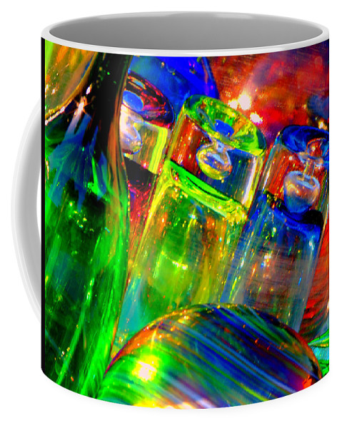 Glass Coffee Mug featuring the photograph Shot Glass by Donna Blackhall
