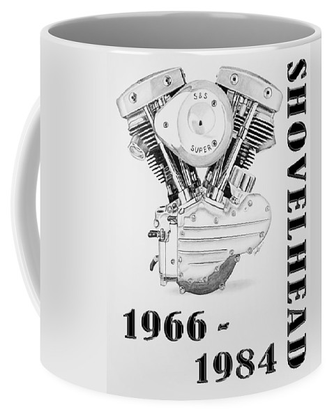 Shovelhead Harley Engine II Coffee Mug